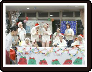 プチクリスマス会の様子